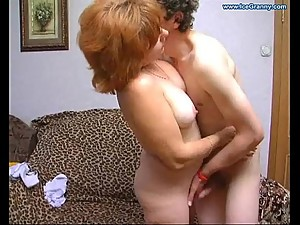 Crazy mature mom fucked my boy