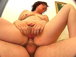 Russian Mature Mom Fucking With Boy