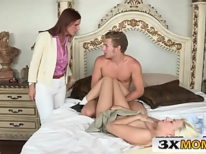 Horny Syren Demer Blackmails Stepson and..