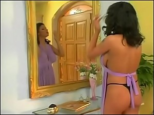 Big Boobs Latina Stepmom Waited Long..