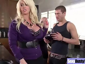 Hardcore Sex Action With Big Tits Mommy..