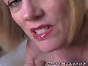 Slut MILF Amateur Handjob