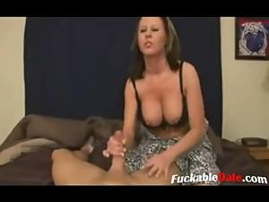 Amateur mom seduce son