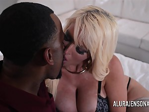 Big Boob Alura Jenson Makes Booty Call..