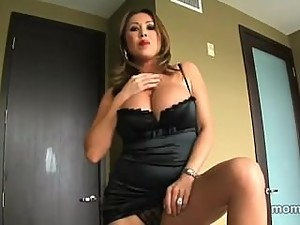 Step-Mom Seduces Son in New Apartment