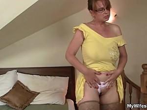 He helps his mother-in-law cum