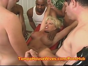 Soccer MOM gets GANG BANGED and CREAMED