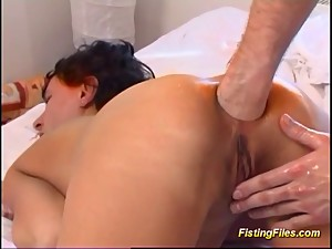 moms first extreme anal fisting lesson
