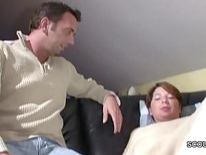 German Step-Son Seduce Step-Mom to Fuck..