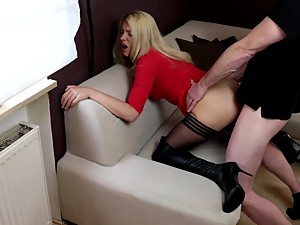 NastyPlace.org - Amateur blonde fucking..