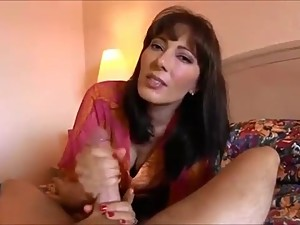 POV mom needs son hard cock right now -..