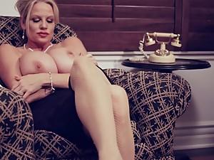 Big Tit Business Woman Takes A..