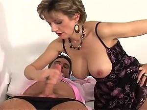 LADY SONIA Big Tits visits the Dr