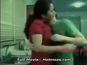 Son forces her step mom to have sex with..