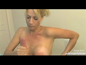 mommy blowjob son