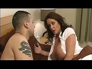 Stepmom &amp_ Not her Stepson Affair 30..