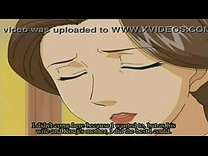 Hentai Mom Gives Son Blowjob XXX Anime