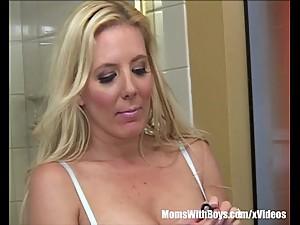 Big Tit MILF Kara Nox Fucking 19yr Old..